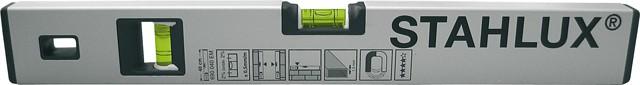 wasserwaage stahlux mit magnet wasserwaagen zubeh r mess kontrollwerkzeuge. Black Bedroom Furniture Sets. Home Design Ideas