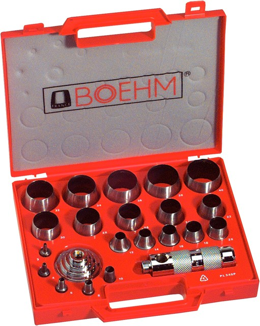 BOEHM Stanzmesser für Ringstanzwerkzeug Ø28mm BOEHM Locheisen Handwerkzeuge 2 St
