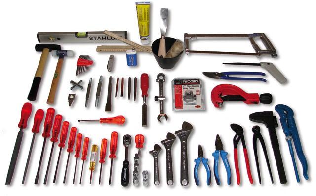 service tool kit tt2 plomberie et de chauffage sacoches coffres et caisses outils. Black Bedroom Furniture Sets. Home Design Ideas