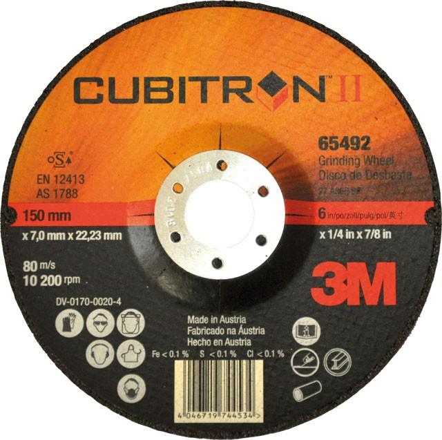 disque barber 3m cubitron ii outils meuler outils d 39 abrasion. Black Bedroom Furniture Sets. Home Design Ideas